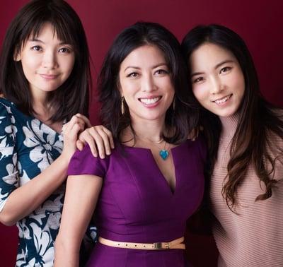Joy Chen 陈愉 with friends