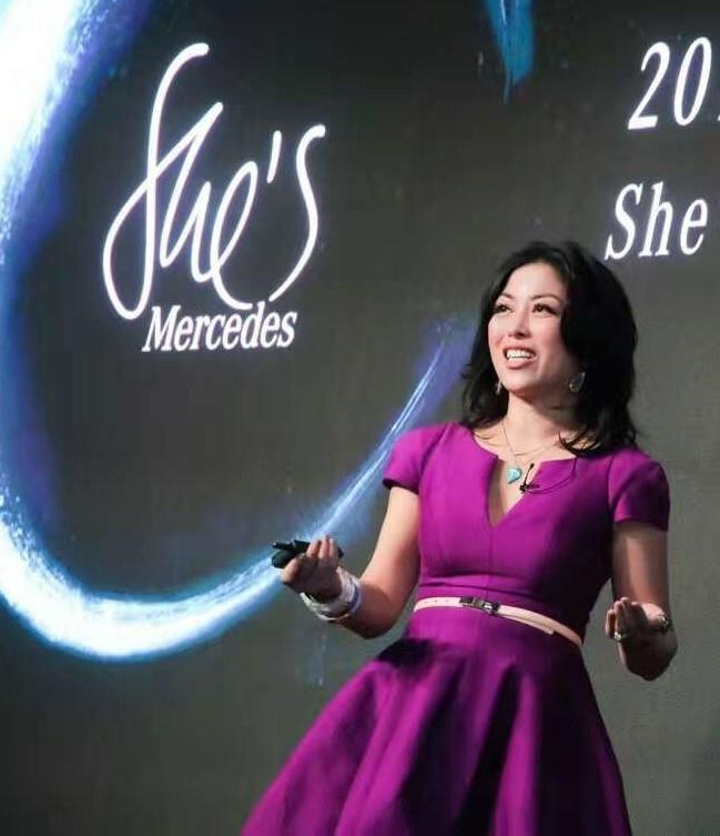 Joy Chen Mercedes Benz speech